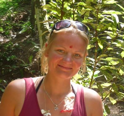 Sarah- Yogalehrerin und Reiseveranstalterin