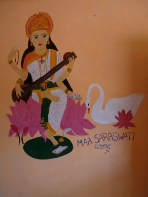 Saraswati- Göttin der Künste und Wissenschaften