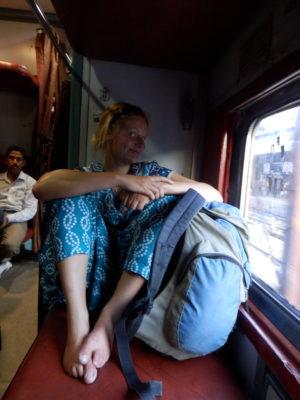 über Nacht im Zug